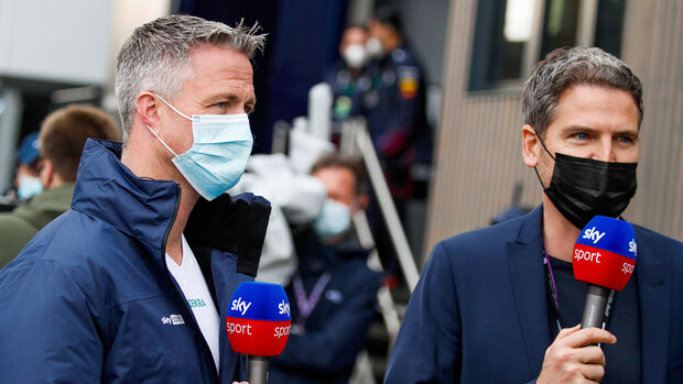 Ralf Schumacher & Peter Hardenacke - Sky - GP Imola 2021