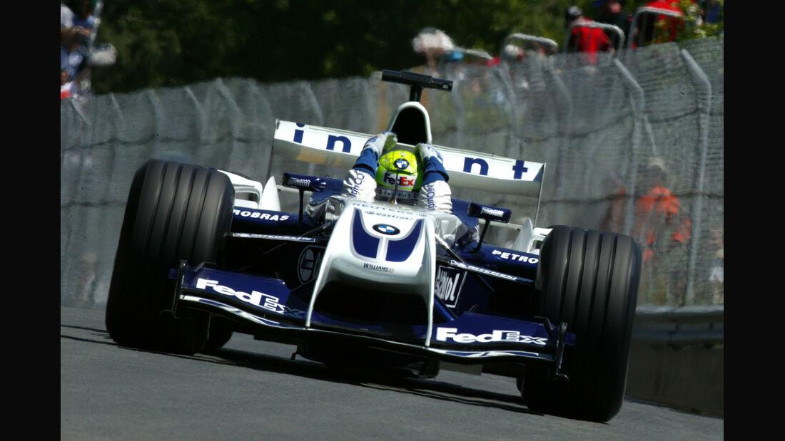 Ralf Schumacher Williams 2004