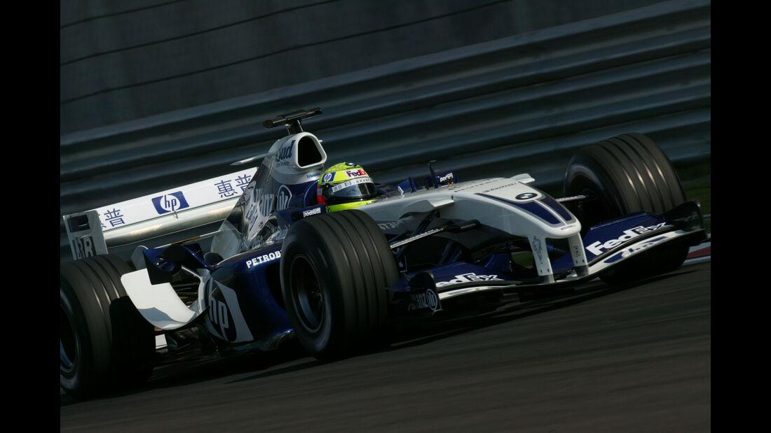 Ralf Schumacher - Williams FW26 - GP China 2004 - Shanghai