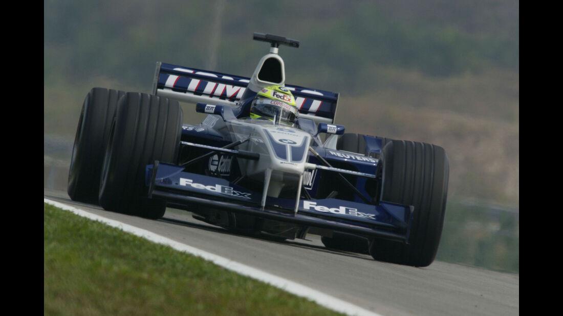 Ralf Schumacher - Williams - GP Malaysia 2002