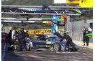 Ralf Schumachers Mercedes fällt wegen Zündaussetzern aus - DTM Valencia 2010