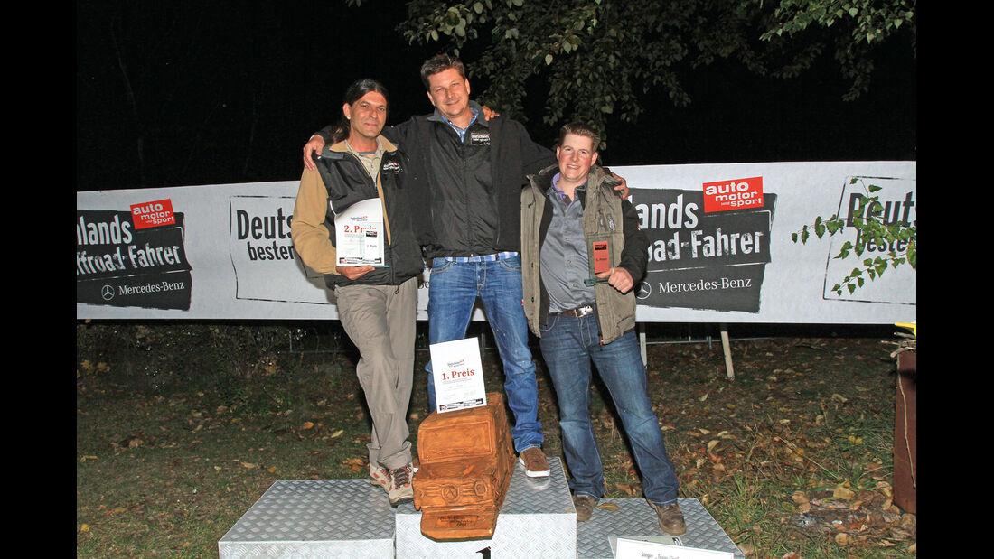 Ralf Woppen, Ingo Jeske, Thomas Gerwing, Sieger