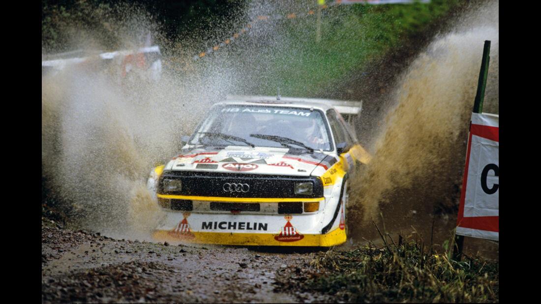 Ralley, Audi Quattro E2