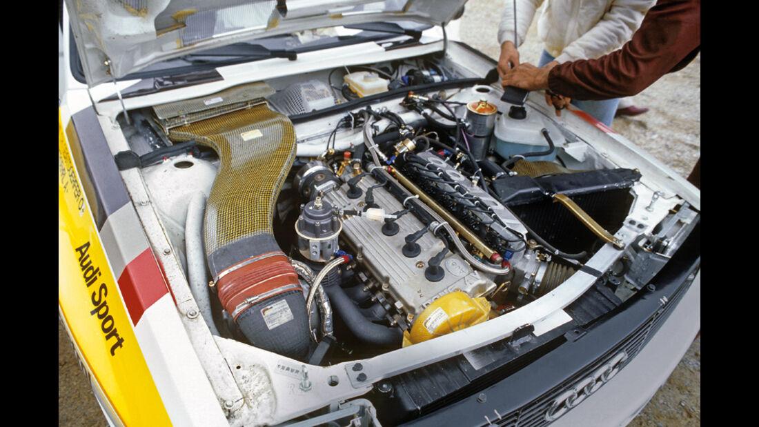 Ralley, Audi Quattro Motor, Detail