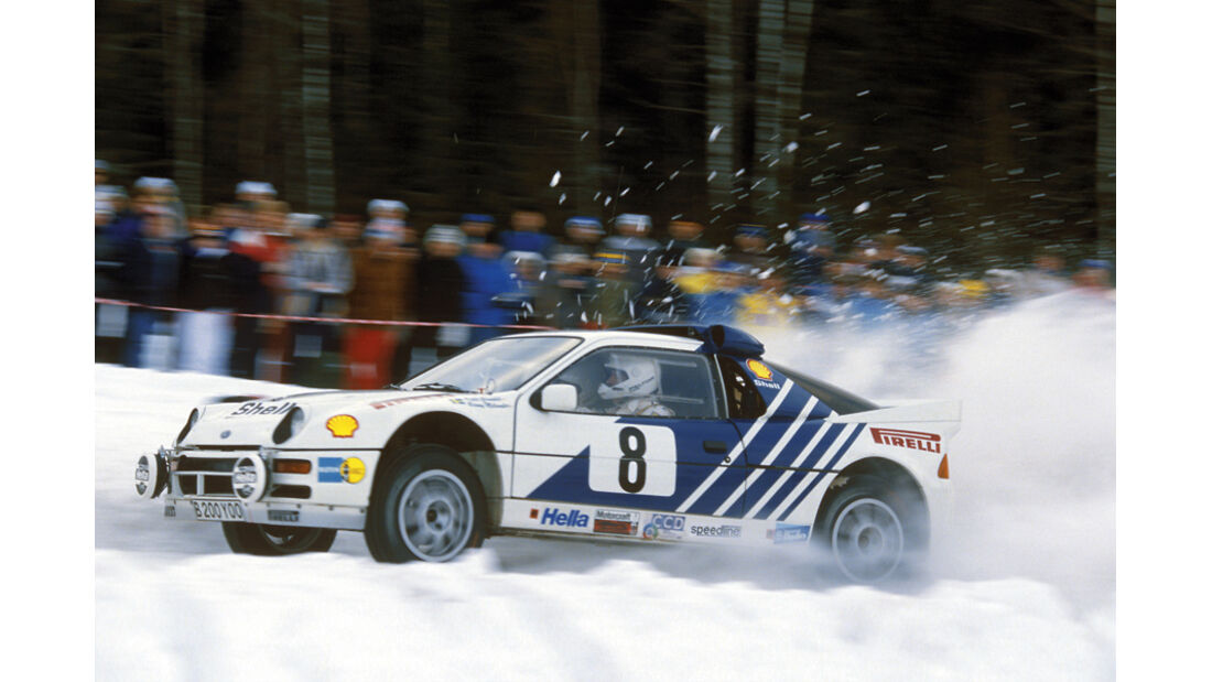 Ralley,  Ford RS 200