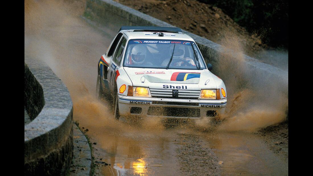 Ralley, Peugeot 205 Turbo