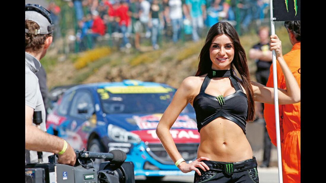 Rallycross, Grid-Girl