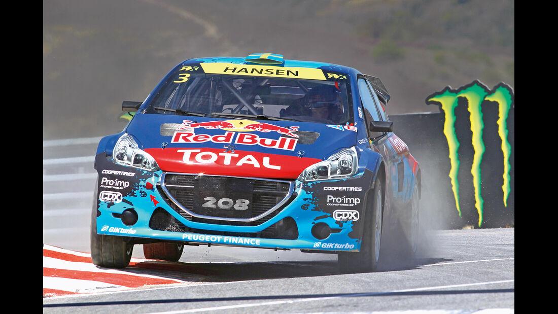 Rallycross, Peugeot 208, Rennszene
