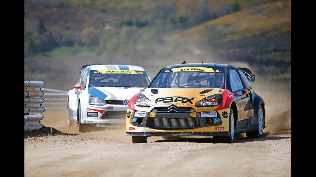 Rallycross, Solberg, Portugal