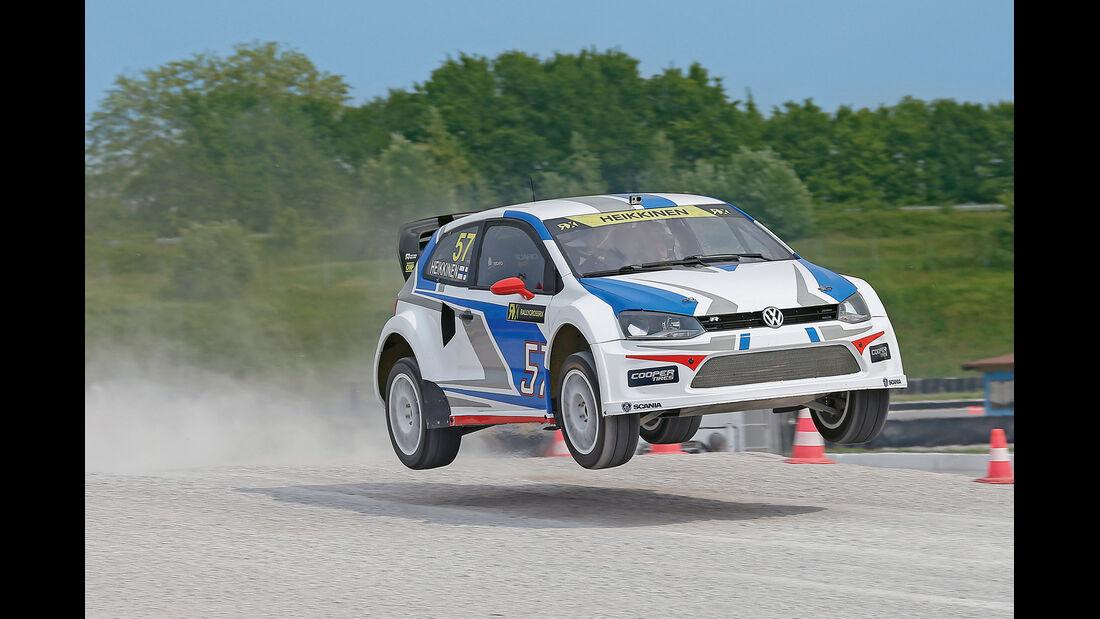 Rallycross, VW Polo, Sprung