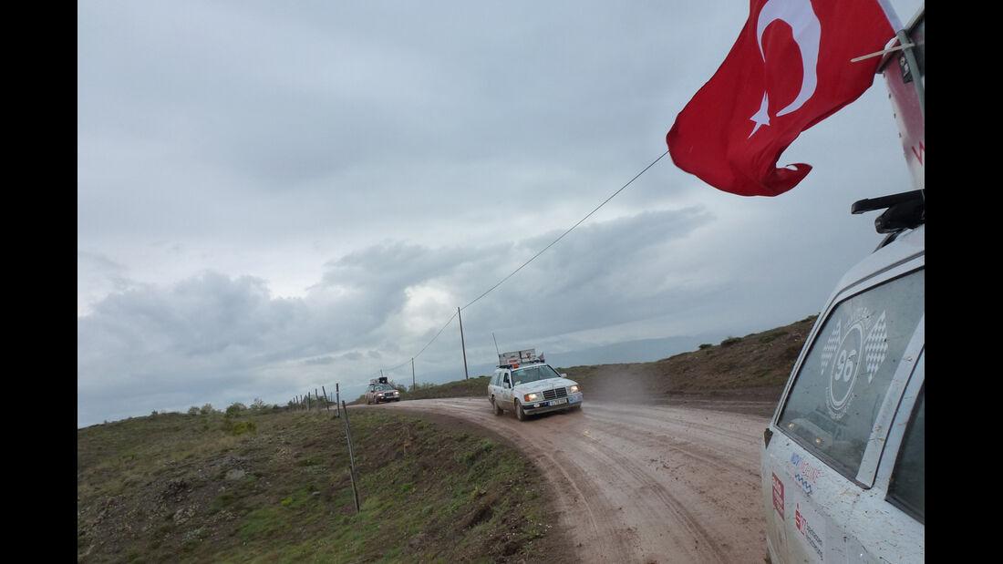 Rallye Allgäu-Orient, Anatolien