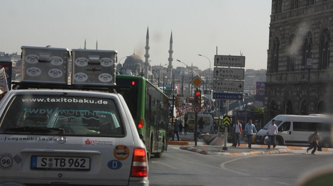 Rallye Allgäu-Orient, Istanbul