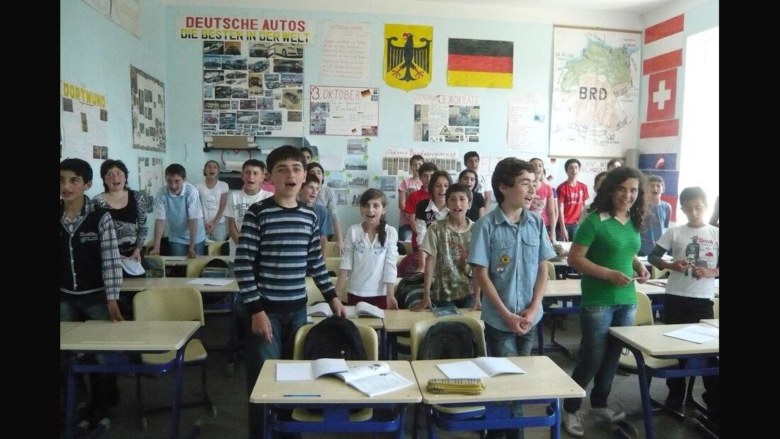 Rallye Allgäu-Orient, Schulklasse, Georgien