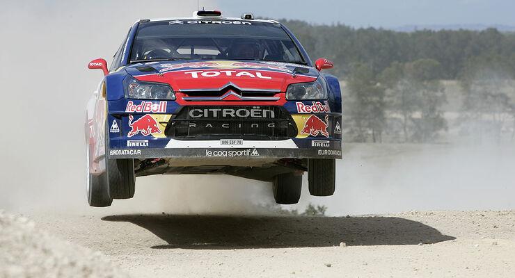 Rallye Australien 2009 Loeb Citroen