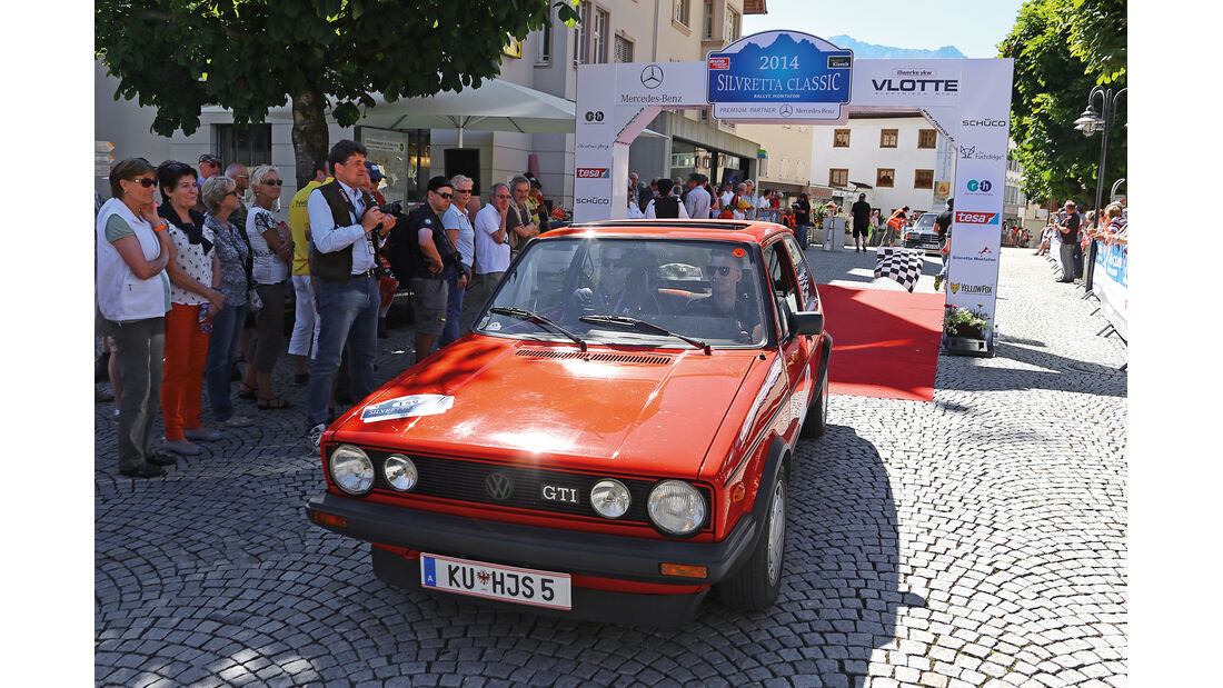 Rallye-Auto, VW Golf I GTI