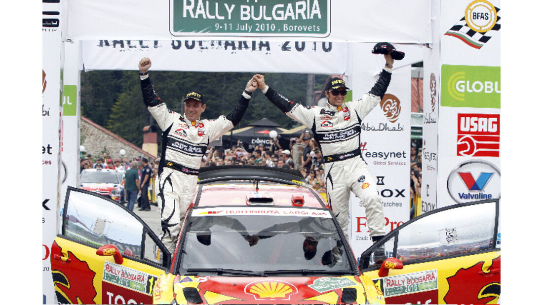 Rallye Bulgarien 2010 Solberg