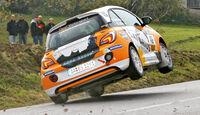Rallye Cup-Adam, Heckansicht, Rennszene