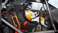 Rallye Cup-Adam, Überrollkäfig, Cockpit