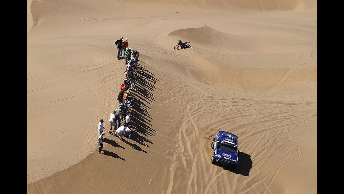 Rallye Dakar 2011, Carlos Sainz, VW Race Touareg
