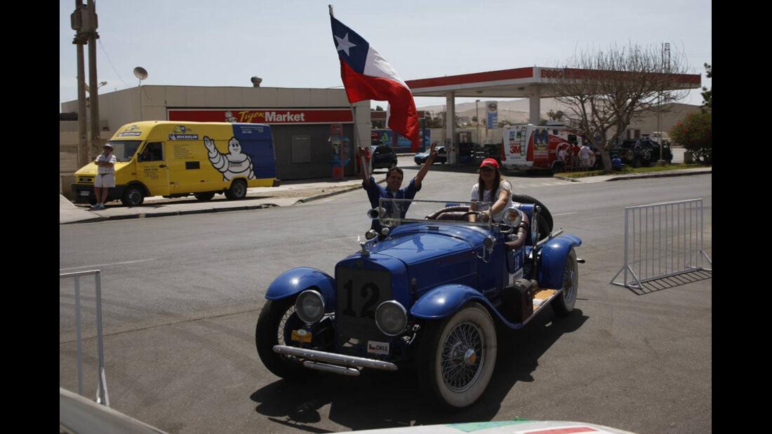 Rallye Dakar 2011 Fans