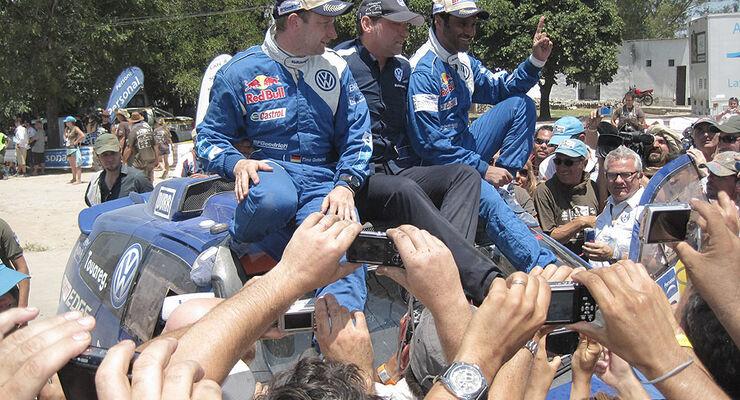 Rallye Dakar 2011, Gesamtsieger, Nasser Al Attiyah, Timo Gottschalk, Kris Nissen