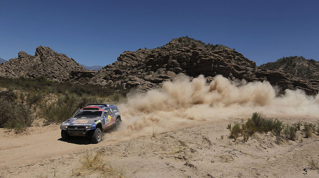 Rallye Dakar 2011, Mark Miller, VW Race Touareg