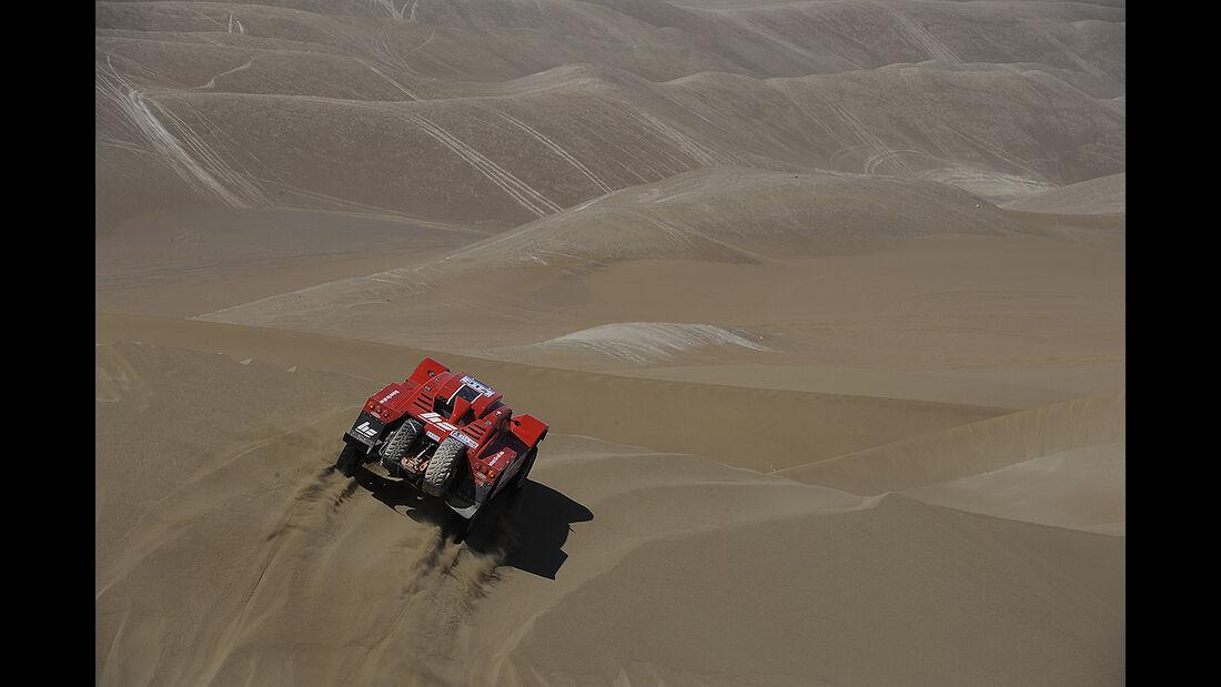 Rallye Dakar 2011, Matthias Kahle