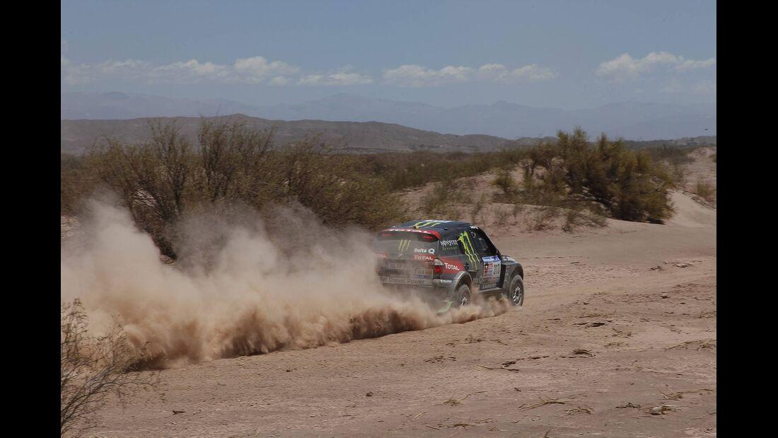 Rallye Dakar 2011, Peterhansel