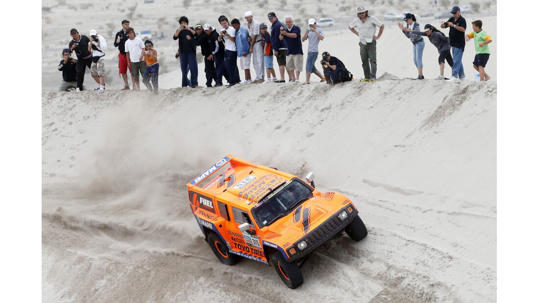 Rallye Dakar 2013 Hummer
