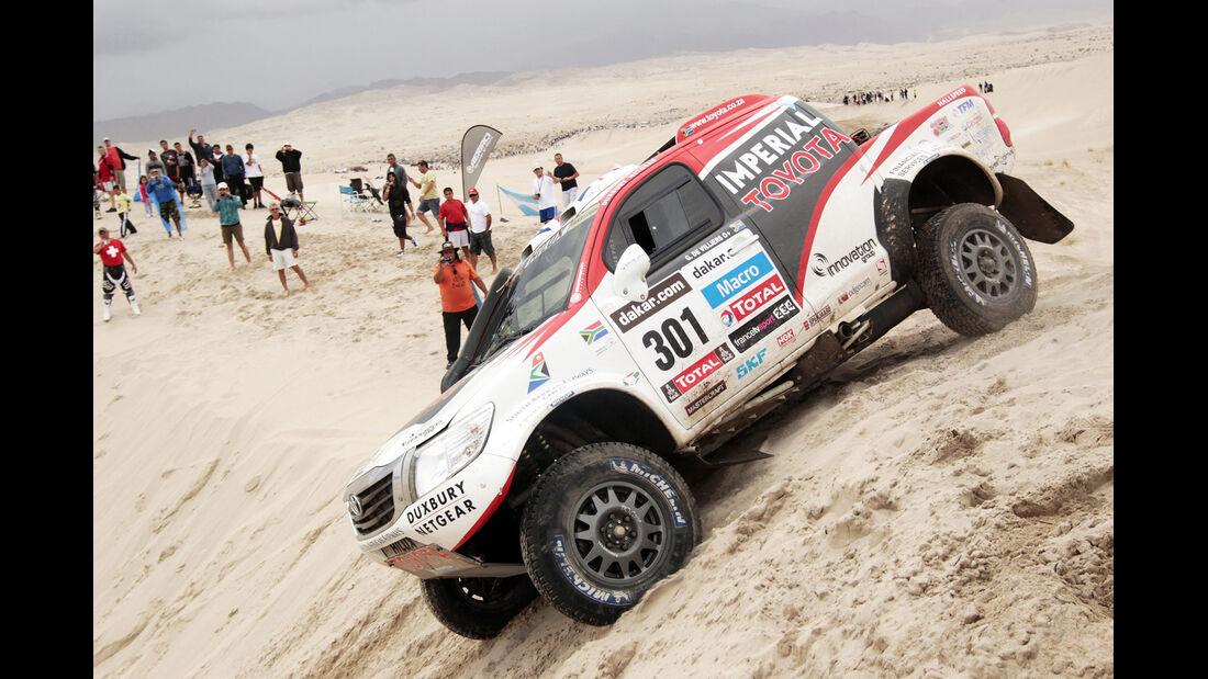 Rallye Dakar 2013 Toyota Pickup