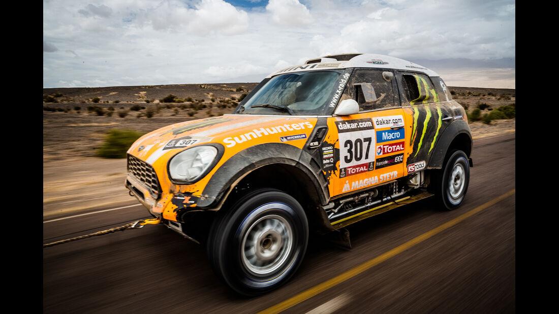 Rallye Dakar 2013 X-Raid