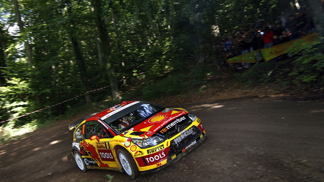 Rallye Deutschland 2010, Citroen C4 WRC, Solberg