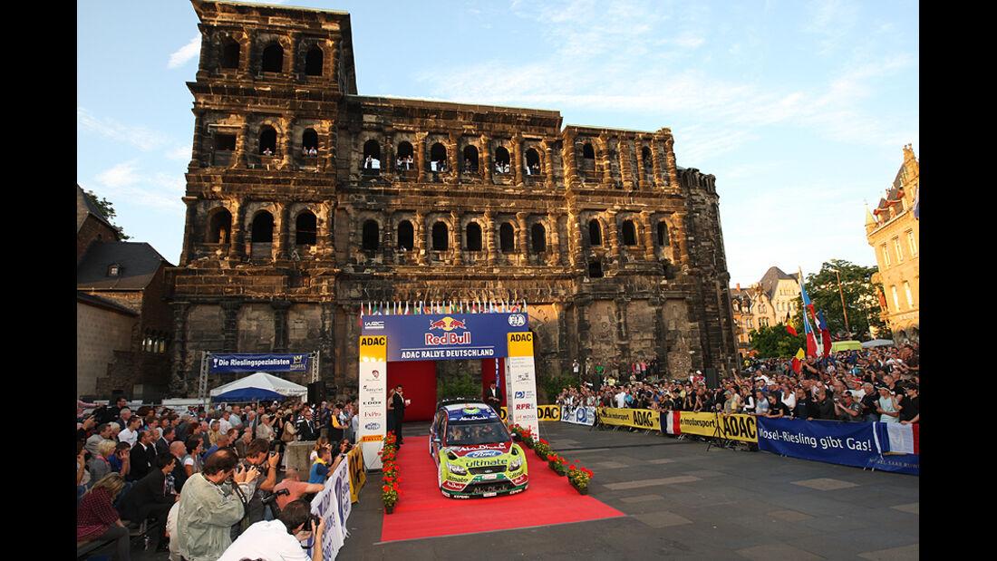 Rallye Deutschland 2010, Start