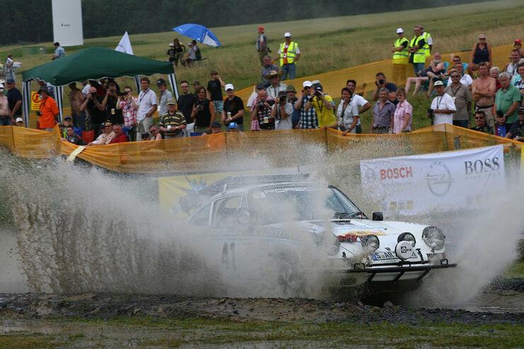Rallye-Festival Daun, Porsche 911, Schlamm