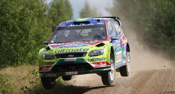 Rallye Finnland 2010, Latvala, Ford Focus WRC, Sprung
