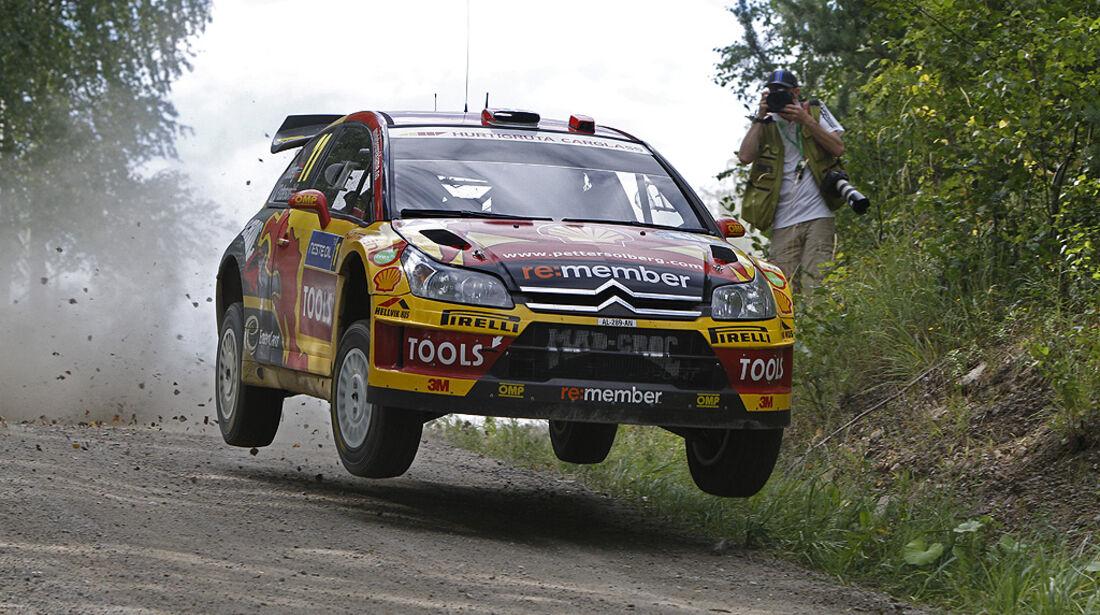 Rallye Finnland 2010, Petter Solberg, Citroen C4 WRC