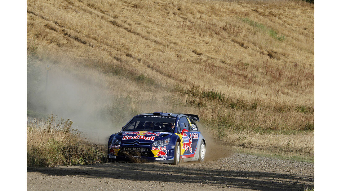 Rallye Finnland 2010, Räikkönen, Citroen C4 WRC, Drift