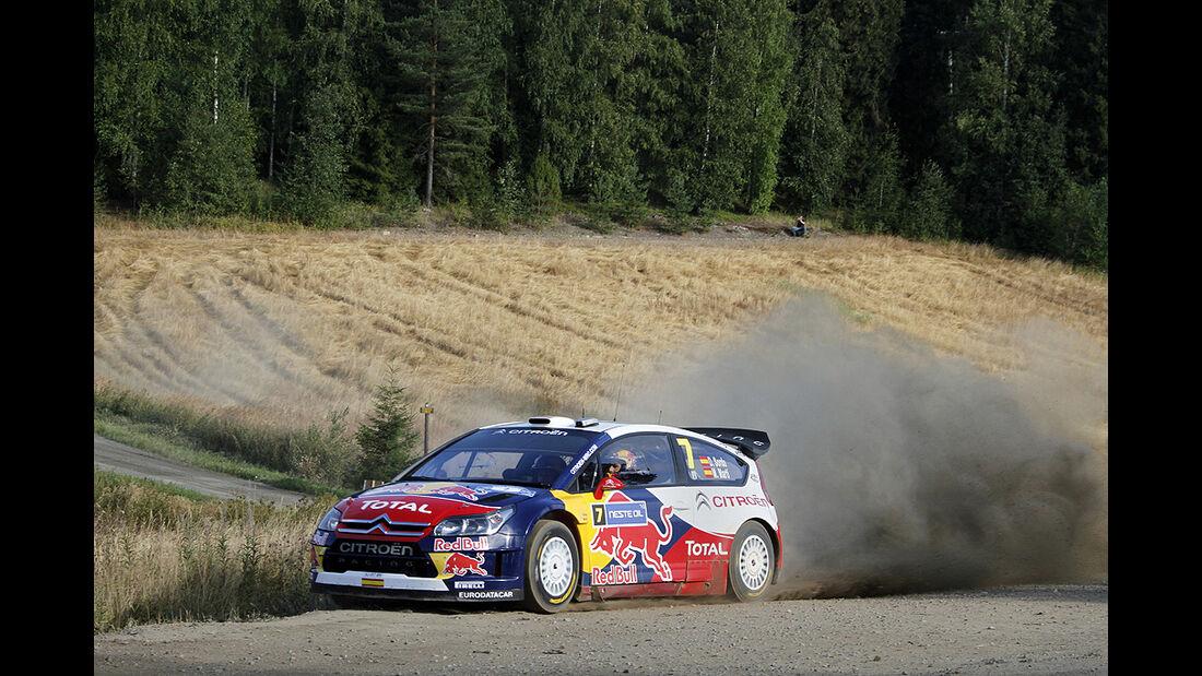 Rallye Finnland 2010, Sordo, Citroen C4 WRC, Drift