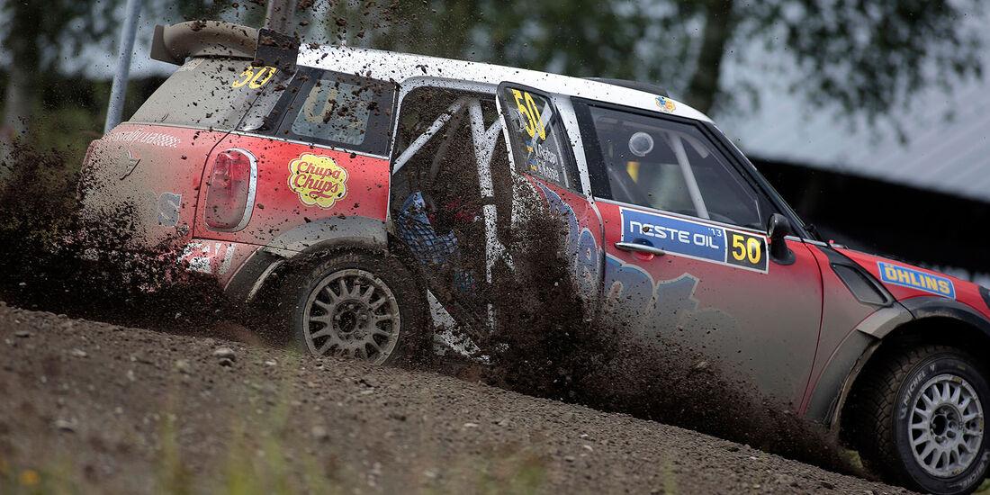 Rallye Finnland 2013, Tag 2