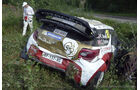 Rallye Finnland - Crash - 2013