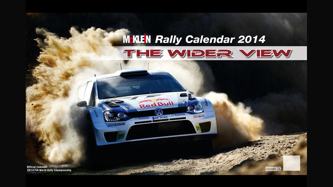Rallye-Kalender 2014 - McKlein - The Wider View