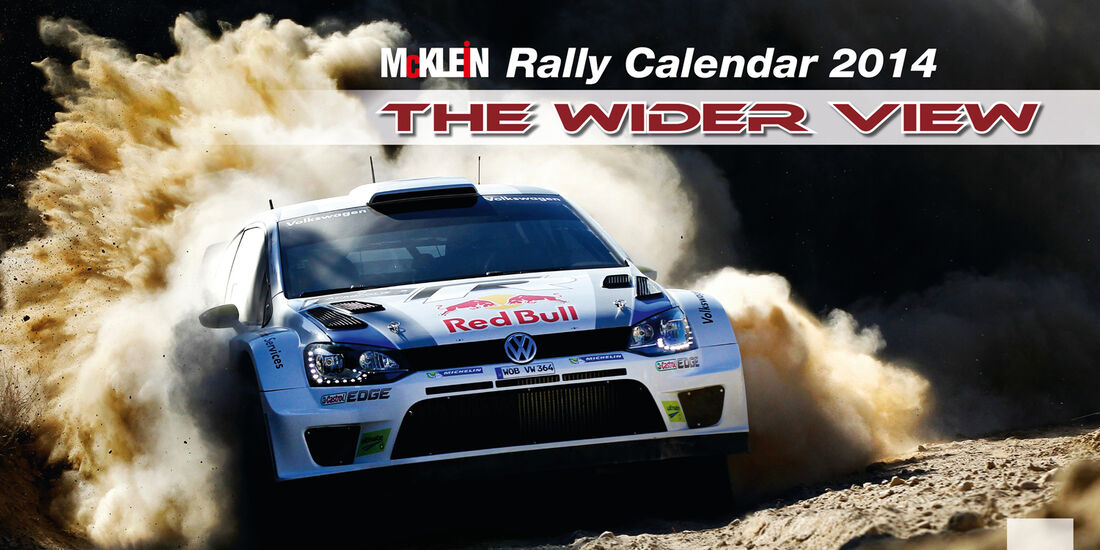Rallye-Kalender 2014 - McKlein - The Wider View