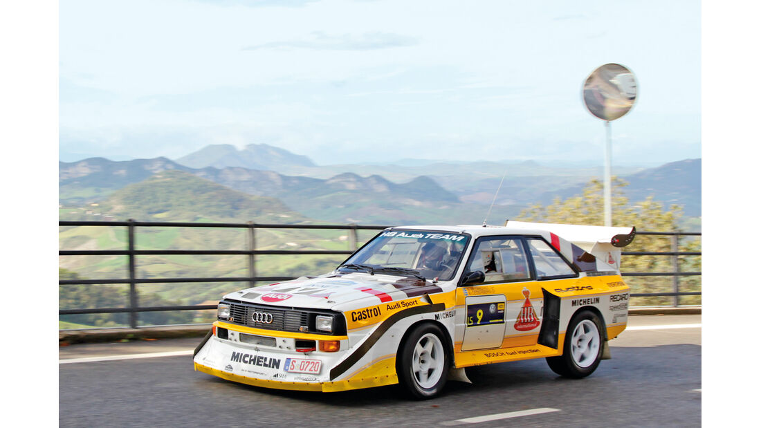 Rallye Legend San Marino, Audi Sport Quattro S1