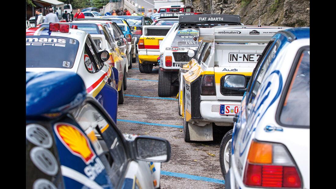 Rallye Legend San Marino, Starterfeld