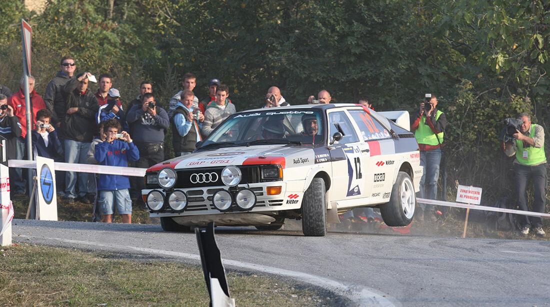 Rallye Legends, San Marino, Audi quattro