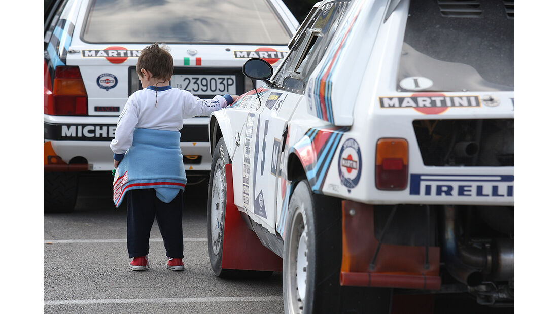 Rallye Legends, San Marino, Lancia S4