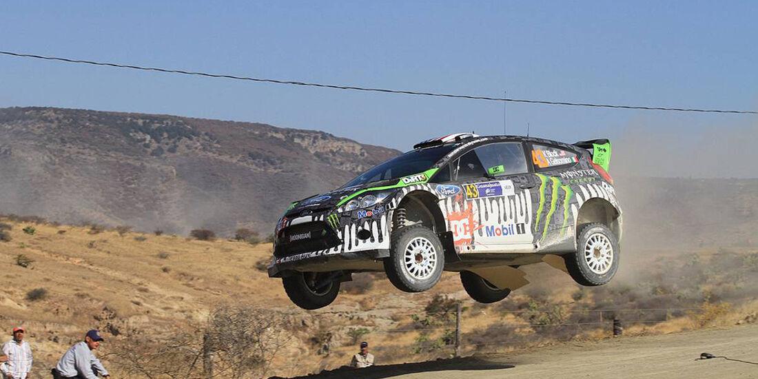 Rallye Mexiko 2011, Block, Ford Fiesta WRC