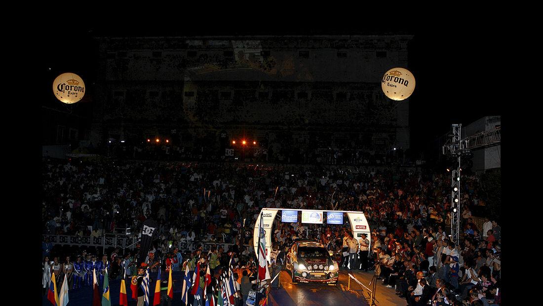Rallye Mexiko 2011, Start