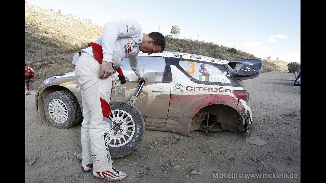 Rallye Mexiko 2014, WRC, Kris Meeke, 03/2014
