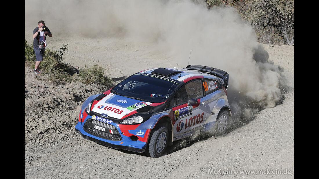 Rallye Mexiko 2014, WRC, Robert Kubica, 03/2014